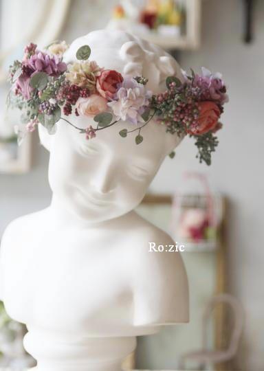 preserved flower http://rozicdiary.exblog.jp/23338467/