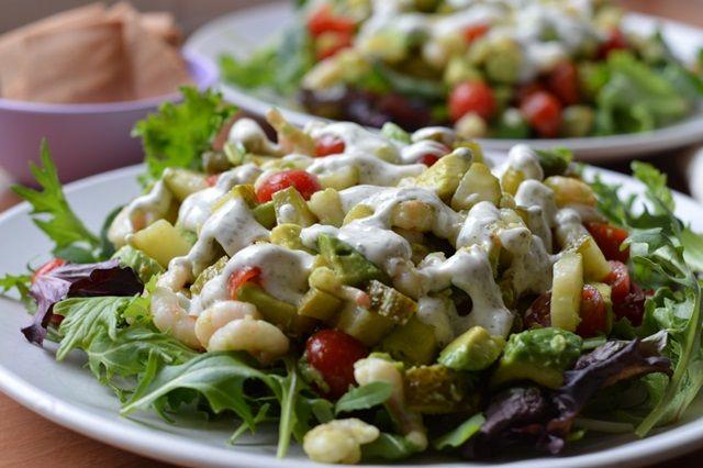 Garnalen avocado salade | Oerkracht - Paleo, Puur & meer