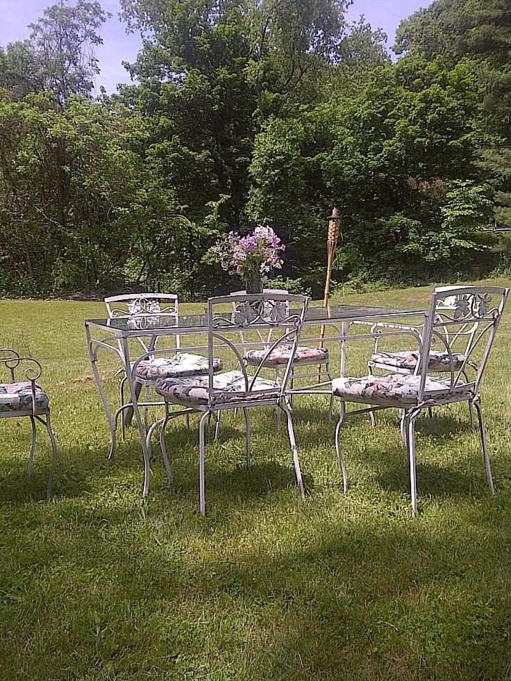 46 best Vintage Lawn Furniture images on Pinterest Lawn
