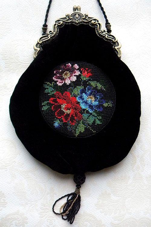 Beaded purses by Olga Orlova