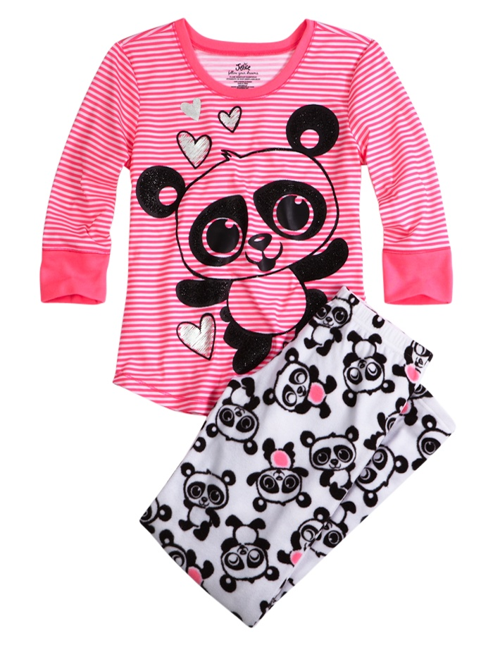 Panda Fleece Pajama Pant | Pant Sets | Pajamas | Shop Justice  Size 8
