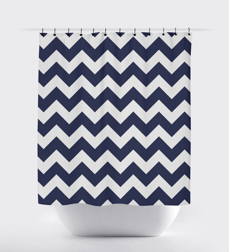 25 Best Ideas About Navy Blue Shower Curtain On Pinterest