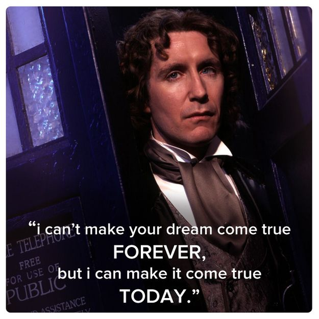 Eighth Doctor (Paul McGann) | 11 Best Quotes Of The First 11 Doctors