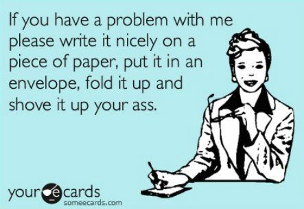 Who can I give this to, today?: Business Cards, Well Said