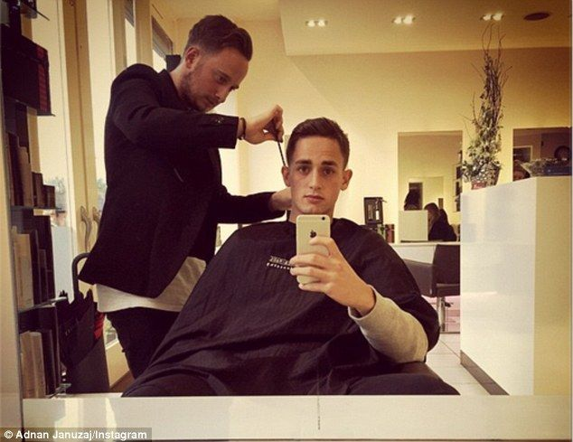 Januzaj Haircut