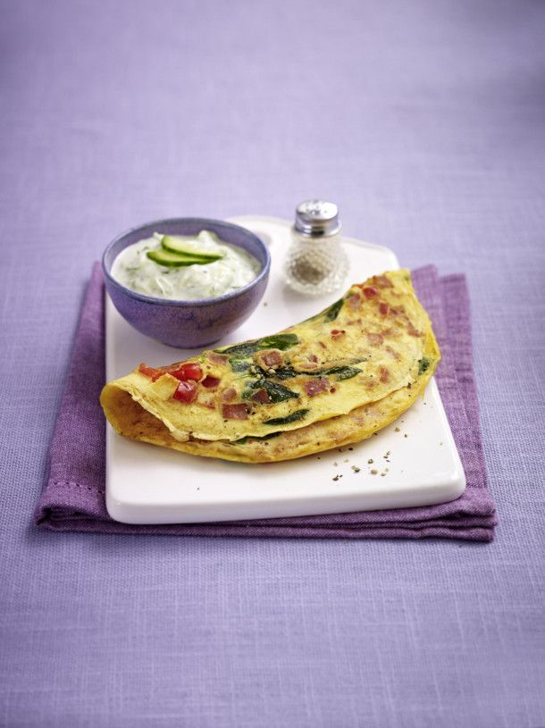 Unser beliebtes Rezept für Schinken-Gemüse-Omelett (Trennkost - Eiweiß) und mehr als 55.000 weitere kostenlose Rezepte auf LECKER.de.