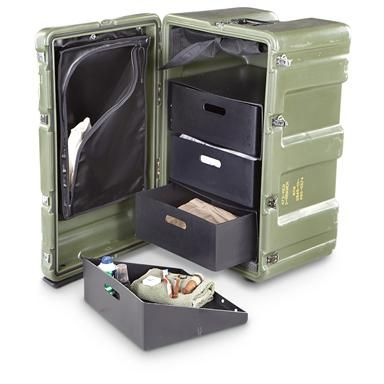 New U.S. Military Surplus Hardigg® Case, Olive Drab|Why buy military surplus?…