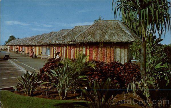 Honolulu International Airport Lei Stands