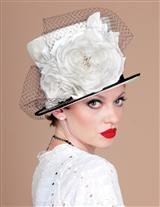 LOUISE GREEN 'LA FEMME' TOP HAT
