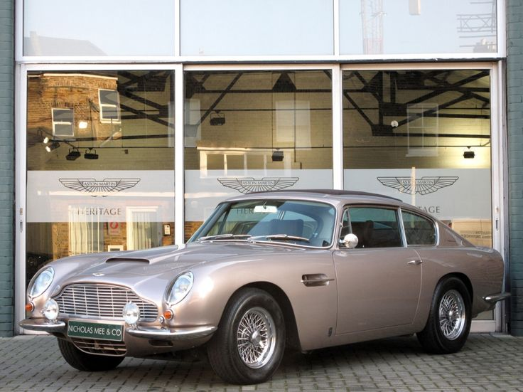 1968 Aston Martin DB6 Maintenance/restoration of old/vintage vehicles: the material for new cogs/casters/gears/pads could be cast polyamide which I (Cast polyamide) can produce. My contact: tatjana.alic@windowslive.com