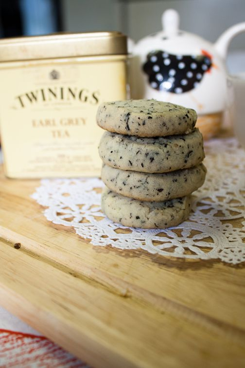 Earl Grey Tea Cookies ...need to make these for my sister.