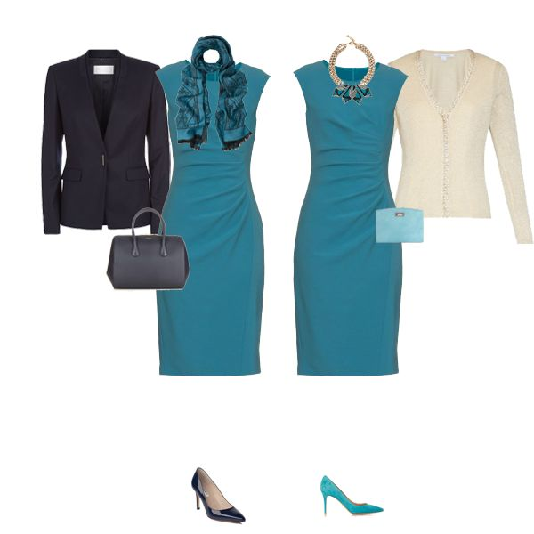 Desk to dinner business wear for women, executive capsule wardrobe