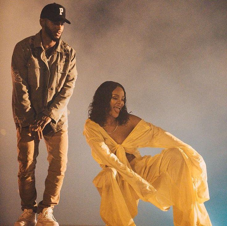 Bryson Tiller and Rihanna