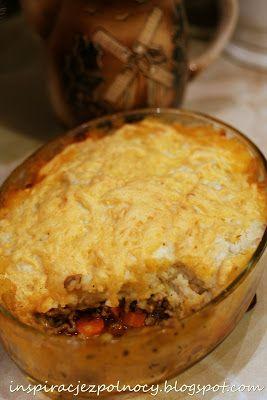 INSPIRACJE Z PÓŁNOCY I POŁUDNIA: Cottage pie, czyli wiejski paj
