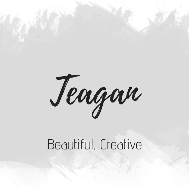 Teagan   Unique names, Baby names, Home decor
