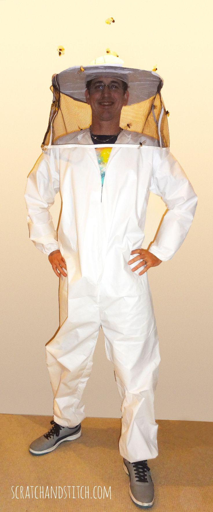 DIY Beekeeper Costume - scratchandstitch.com