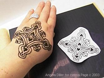 How to Do Complex Henna Patterns Perfectly Using Transfer Paper.