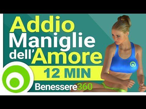 Eliminare le Maniglie dell'Amore - Esercizi per Fianchi, Pancia e Girovita - YouTube