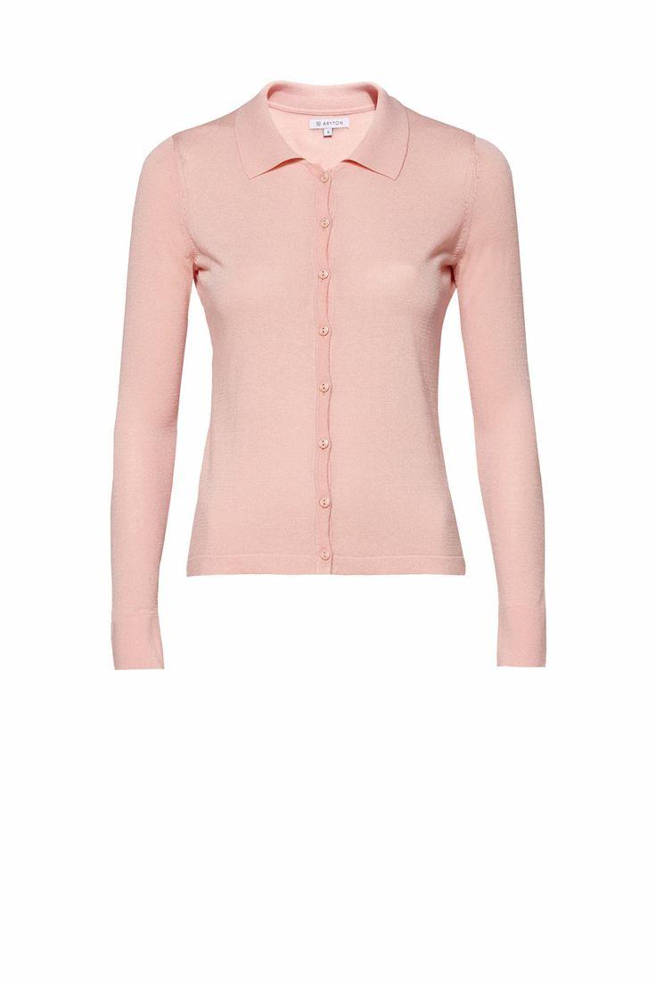 Dzianinowa bluzka koszulowa ARYTON wiosna-lato 2014