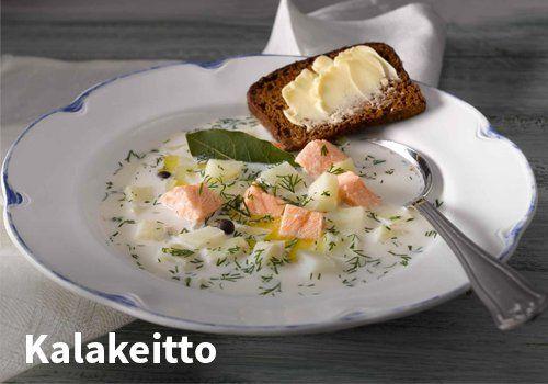 Kalakeitto Resepti: Valio #kauppahalli24 #ruoka #resepti #kalakeitto
