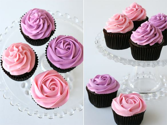 {Cupcake Monday} How To Frost Cupcakes with a Beautiful Swirl! | The TomKat Studio