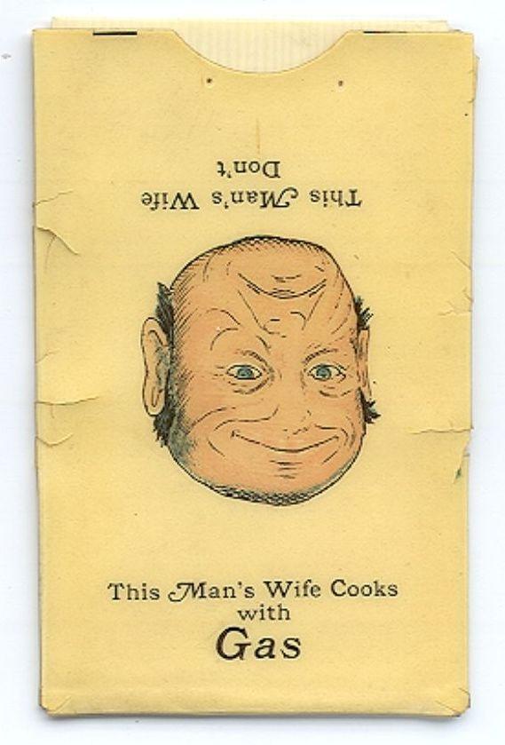 Souriez plus souvent! Étui à timbres-poste de 1913 par Canadian Art.