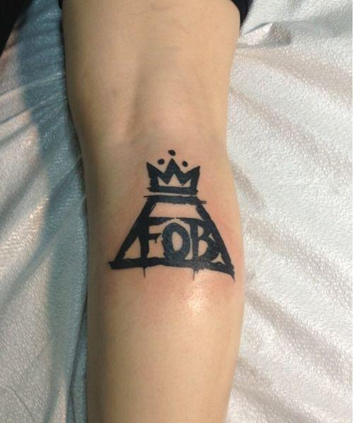 Fall Out Boy tattoo