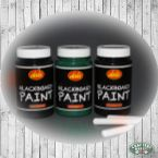 Blackboard paint, Available in Green and Black.
