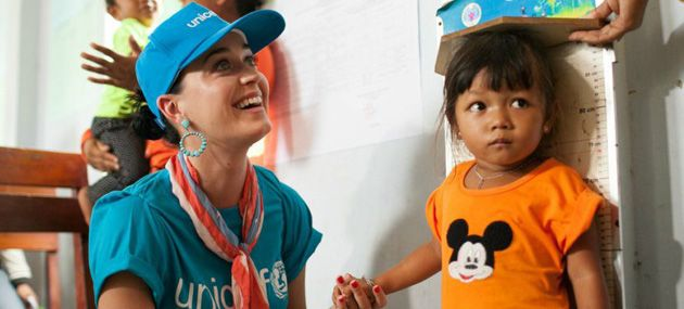 She may be a record-breaking colossus of pop culture, but singer Katy Perry has a following that is as inspired as much by her political and social activism, as well as her tireless work on behalf of a range of charitable organisations.