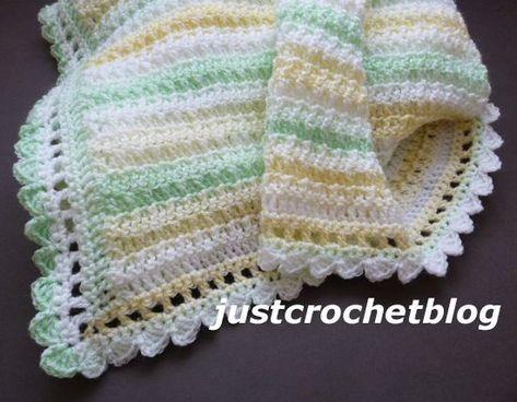 Crochet Citrus Baby Blanket A Free Crochet Pattern Made
