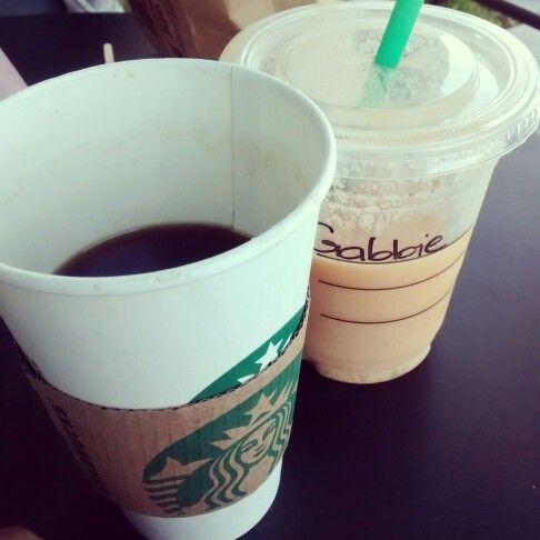 Coffee anf smothie.
