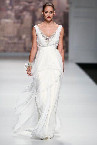 Robes de mariée taille empire tendance 2015 Rosa Clara