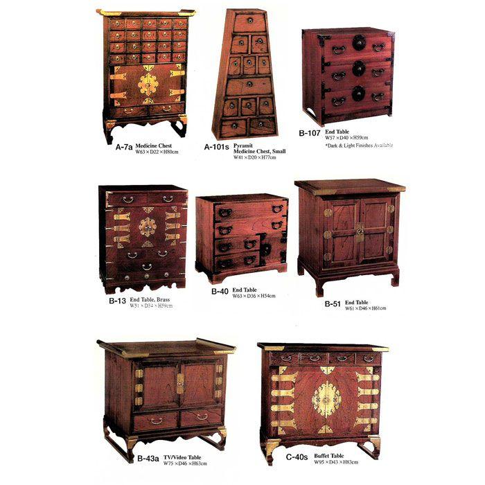 KOREAN FURNITURE   Korean antique furniture asian furniture Korean Antique oriental ...