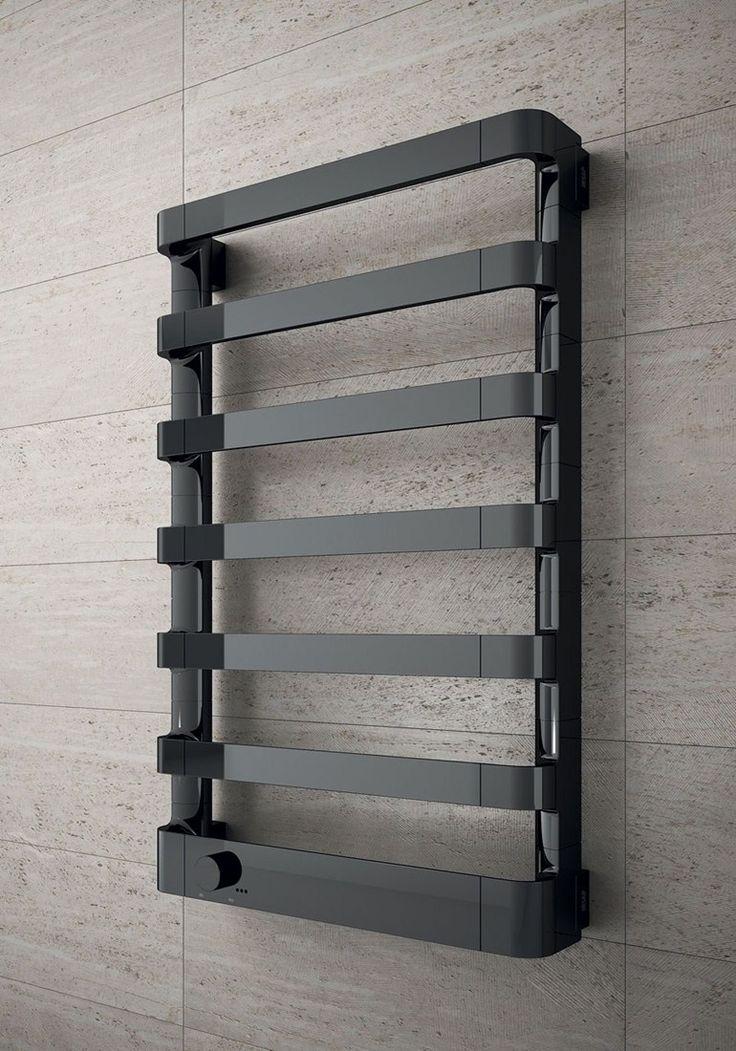 Wall-mounted chrome decorative radiator STEP E - IRSAP