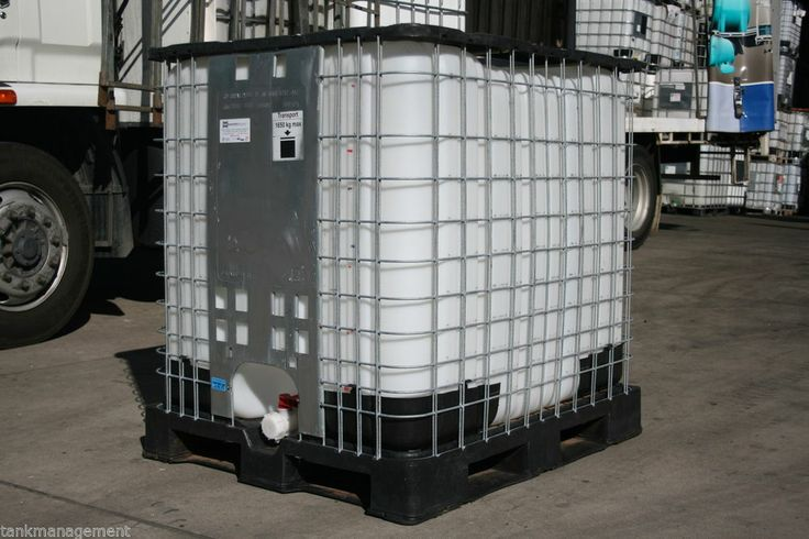 IBC1000_A -1000L mesh cage IBC water tank with FREE adaptor