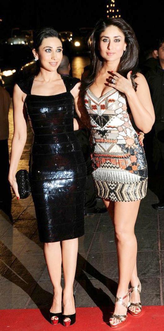 .Damn hot Kareena Kapoor with sister Karishma Kapoor
