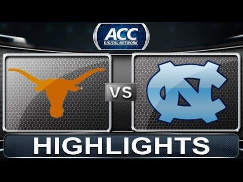 ▶ Texas vs North Carolina | 2013 ACC Basketball Highlights - YouTube. UNC needs to work on free throws (missed 23), that'll help them go far in the tourney...