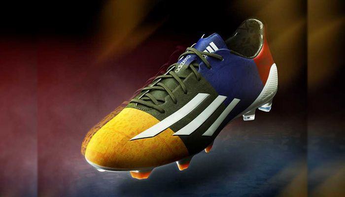 """39cd77ee999 adidas adizero F50 Cleat """"Champions League"""" for Lionel Messi"""