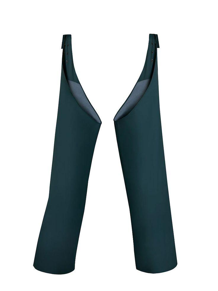 NOGAWICE WODOOCHRONNE Model: 507 Nogawice wodoochronne mocowane do paska za pomocą nap. Model produkowany z  wodoochronnej tkaniny Plavitex. Zapewniają skuteczną ochronę przed wodą. Technika obustronnego zgrzewania zwiększa wytrzymałość szwów. Produkt spełnia standardy europejskich norm: EN ISO 13688 i EN 343.