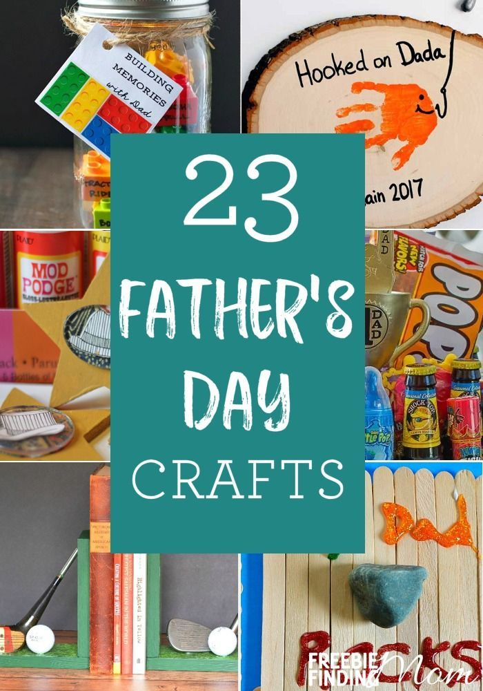 Do you need craft ideas for Father's Day that will knock the socks off Dad? Lo...