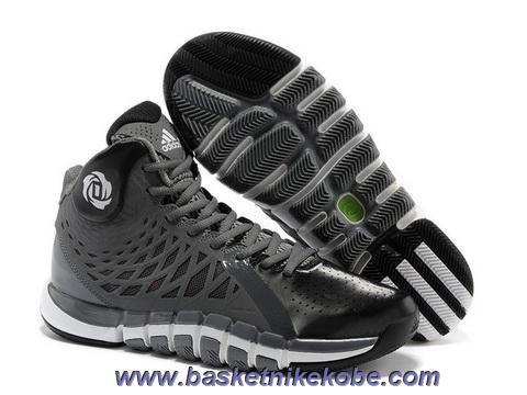 Adidas Derrick Rose 773 II Gris Blanc Q33235 Vente
