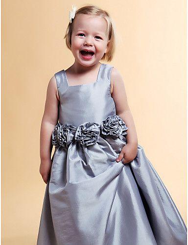 balo elbisesi kare zemin uzunlukta tafta çiçek kız elbisesi fiyat $59.99