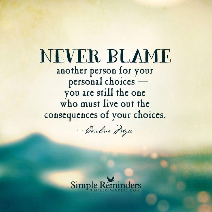 Releasing blame | Guide to Awakening Your Inner Self