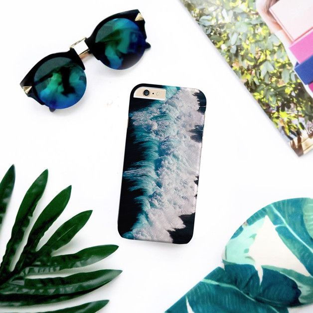 Phone Cases – Blue Ocean hard case for iPhone Samsung Galaxy Htc – a unique product by Solomiia-Ivanytsia on DaWanda
