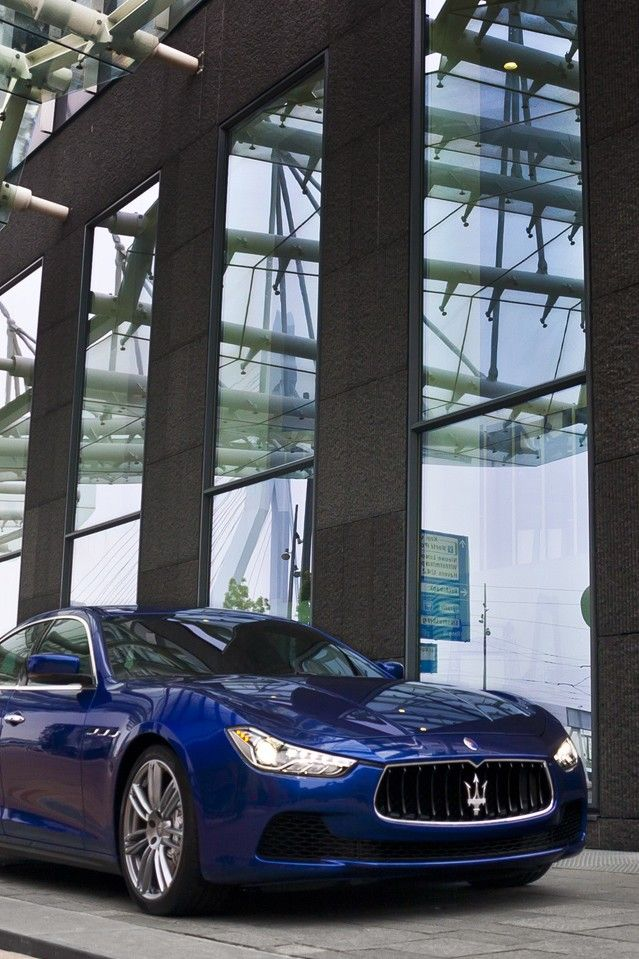 Maserati Ghibli, this is going to look good in my garage!