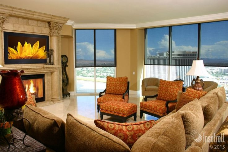 Custom Roller Shades Naples Condo Naples Custom Window