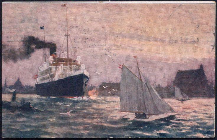 Paul Fischer parti fra havnen