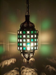 Add a stunning colourful Moroccan lantern to your boho room. www.exoticimports.co.nz