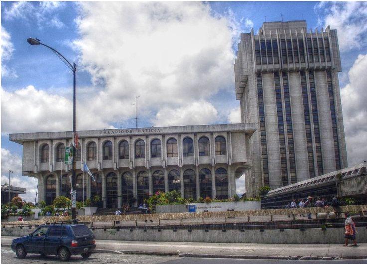 Palacio de Justicia, sede de la Corte Suprema de Justicia.