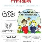 Questions with Answers Volume 1 Printables